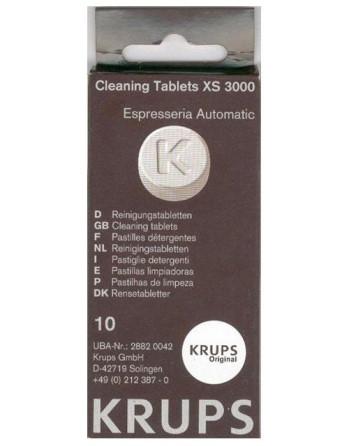 Почистващи таблетки Krups еспресо, опаковка от 10 броя