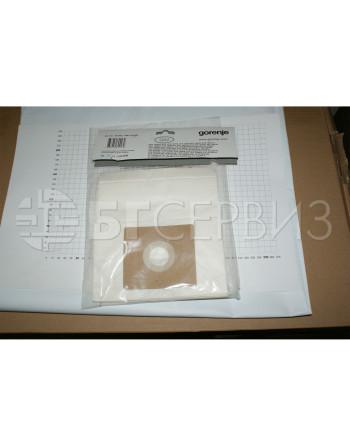5 x Торбички + филтър прахосмукачка Gorenje